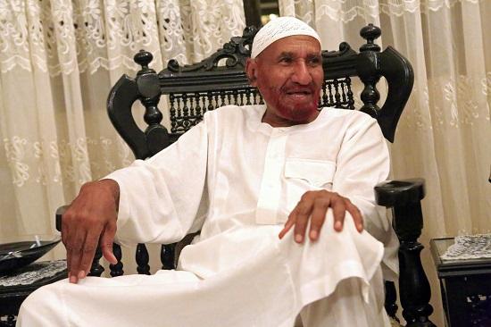 رئيس الوزراء السوداني الأسبق الصادق المهدي