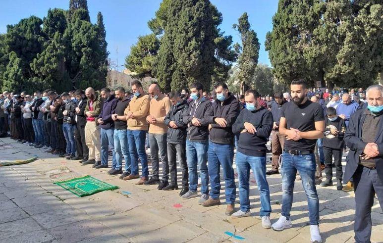 المصلين فى القدس