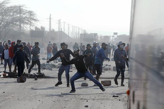 أعمال العنف فى بيرو