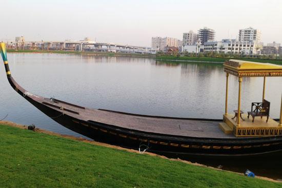 بحيرة عين الصيرة بالقاهرة تتحول لجنة خضراء (1)