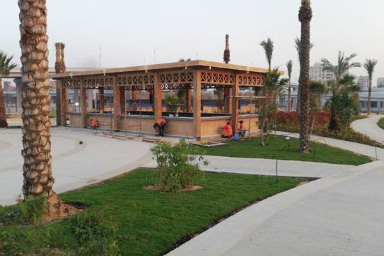 بحيرة عين الصيرة بالقاهرة تتحول لجنة خضراء (10)