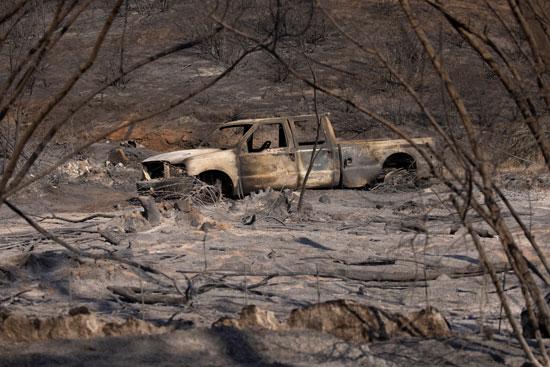 تجدد الحرائق فى غابات كاليفورنيا والنيران تلتهم مساحات واسعة (3)