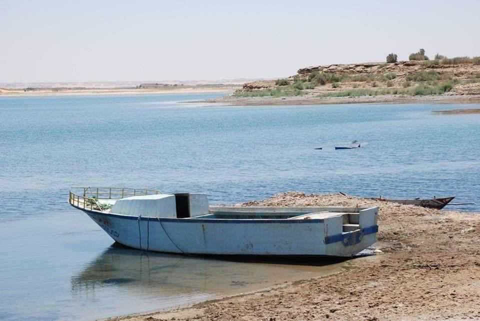 البحيرات الغامضة جمال خلاب فى صحراء الوادى الجديد (9)