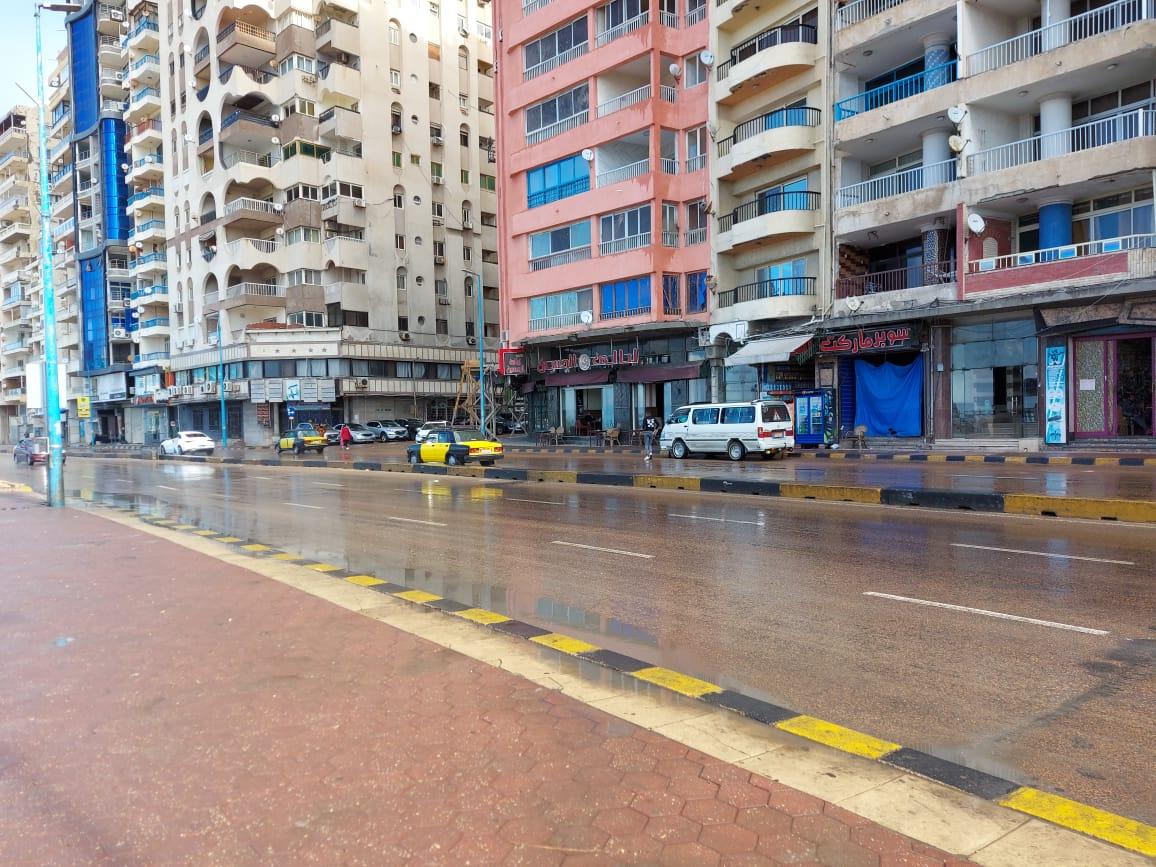 أمطار غزيرة تضرب الإسكندرية (4)
