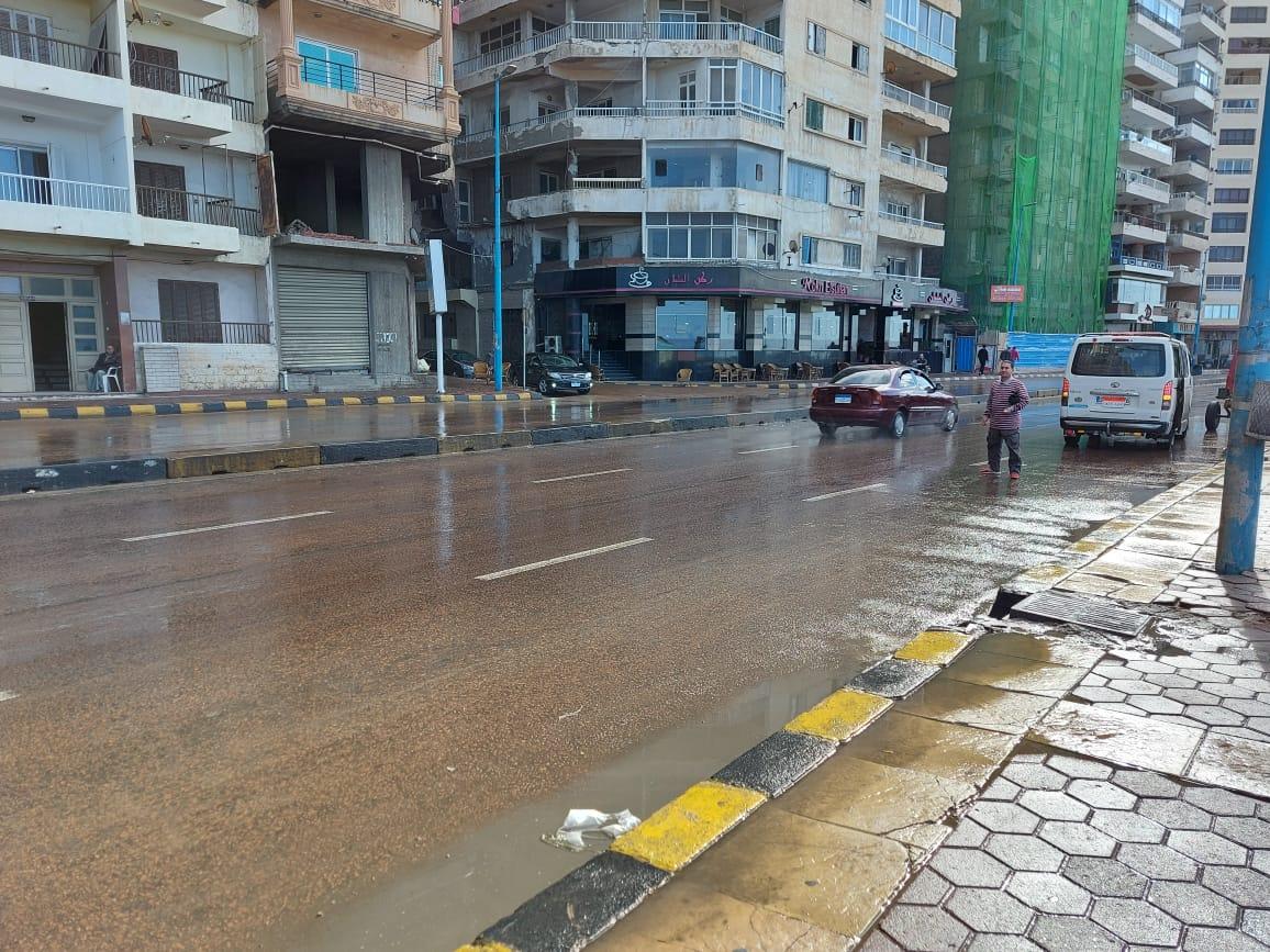 أمطار غزيرة تضرب الإسكندرية (7)