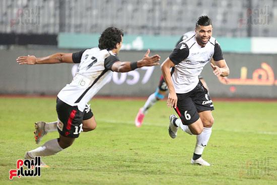 بداية مباراة الاهلي والطلائع نهائي كاس مصر  (6)