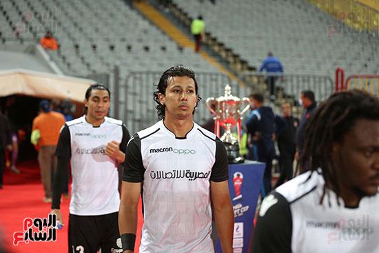 بداية مباراة الاهلي والطلائع نهائي كاس مصر  (15)