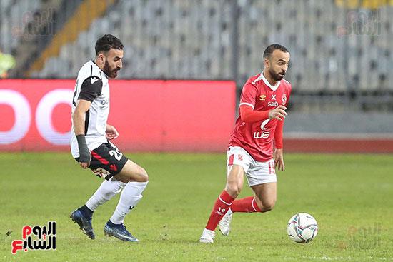 بداية مباراة الاهلي والطلائع نهائي كاس مصر  (4)