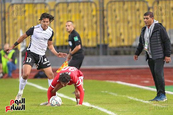 بداية مباراة الاهلي والطلائع نهائي كاس مصر  (3)
