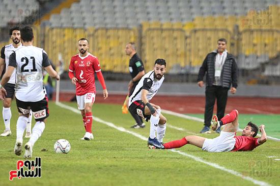 بداية مباراة الاهلي والطلائع نهائي كاس مصر  (5)