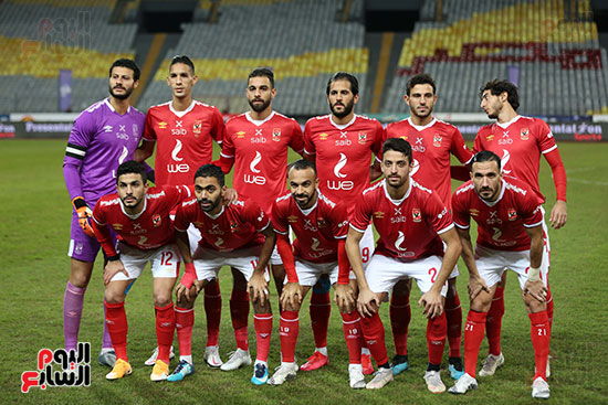 بداية مباراة الاهلي والطلائع نهائي كاس مصر  (10)