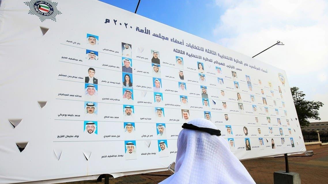 المرشحون للانتخابات النيابية بالكويت