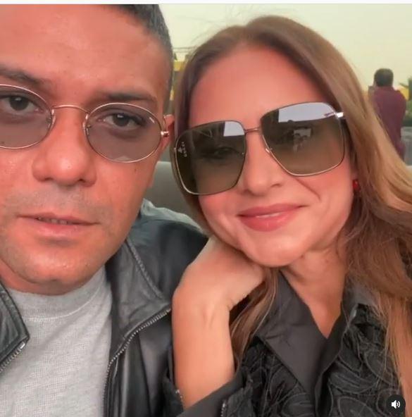 آسر ياسين مع نيللي كريم