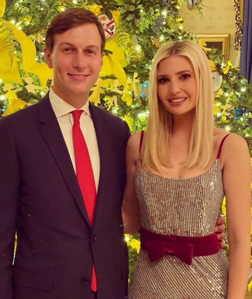 إيفانكا ترامب ترامب بصحبة زوجها