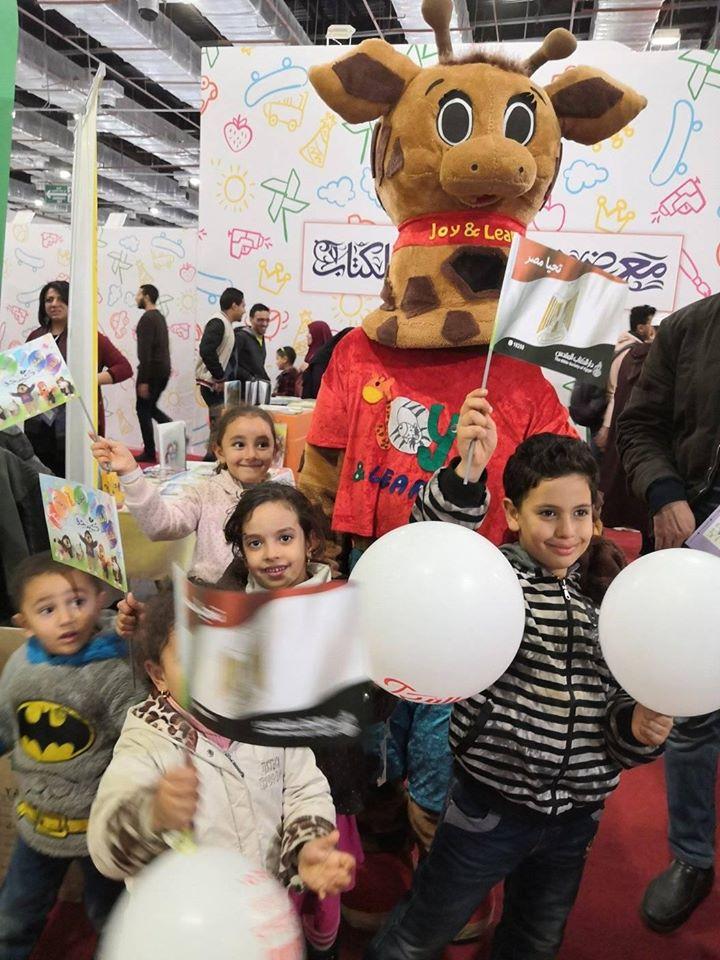 الأطفال فى معرض الكتاب (6)