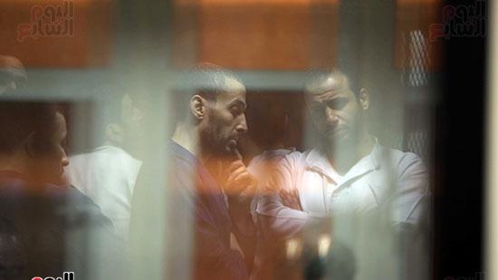 الحكم على هشام عشماوى والمتهمين فى قضية انصار بيت المقدس (11)