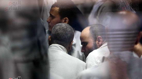 الحكم على هشام عشماوى والمتهمين فى قضية انصار بيت المقدس (14)