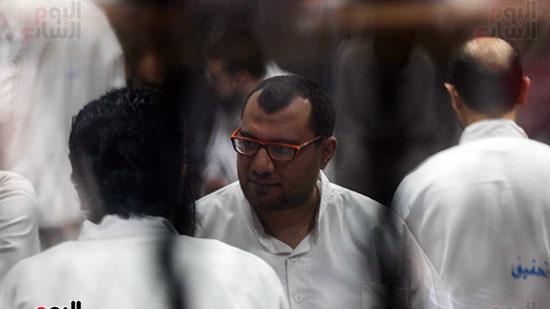 الحكم علي هشام عشماوى والمتهمين في قضية انصار بيت المقدس  (1)