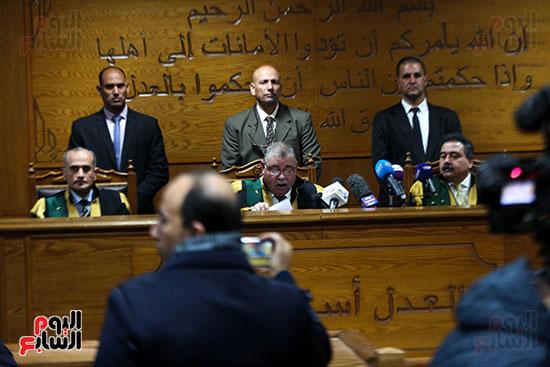الحكم على هشام عشماوى والمتهمين فى قضية انصار بيت المقدس (6)