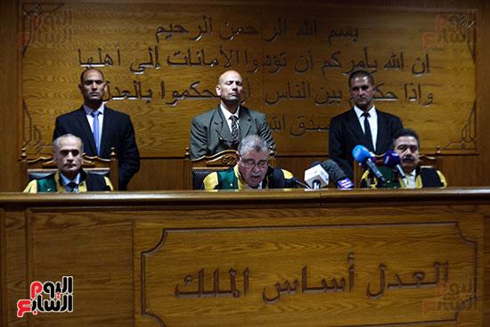 الحكم على هشام عشماوى والمتهمين فى قضية انصار بيت المقدس (10)