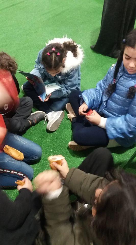 الأطفال فى معرض الكتاب (8)