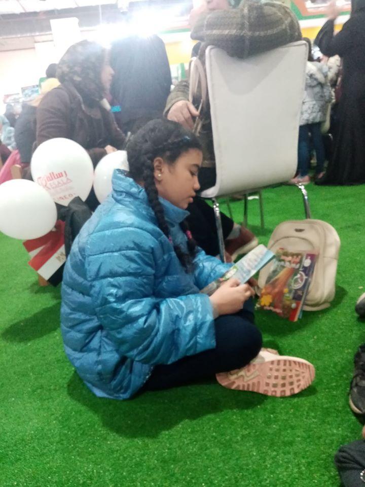 الأطفال فى معرض الكتاب (7)