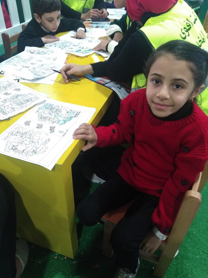 الأطفال فى معرض الكتاب (5)
