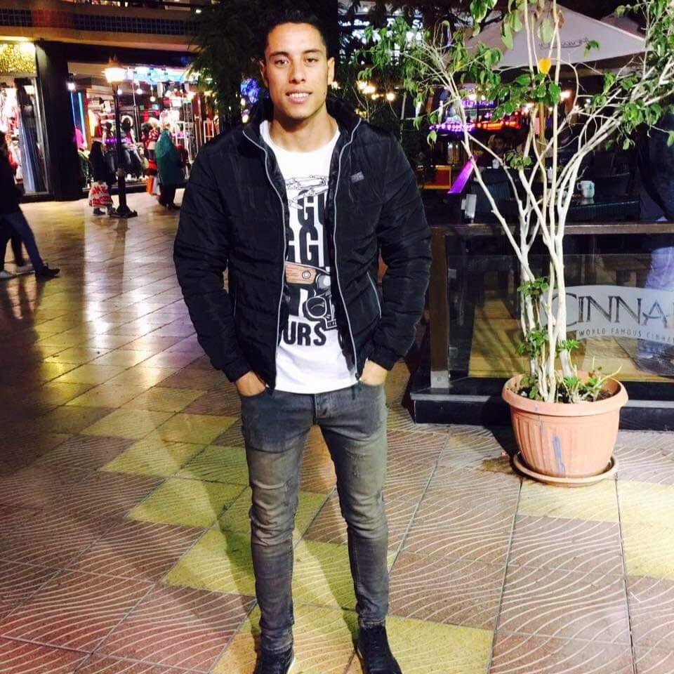 احمد سعد لاعب سموحة
