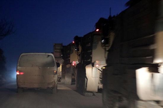 تركيا ترسل ناقلات جنود