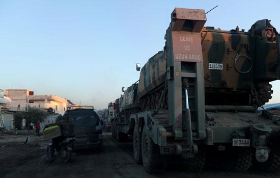 تعزيزات للجيش التركى
