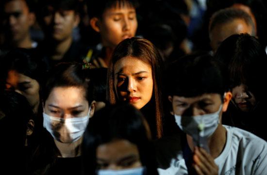 تأبين ضحايا تايلاند