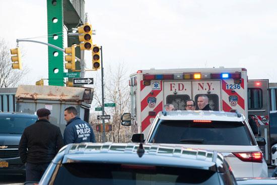 انتشار شرطى عقب الحادث
