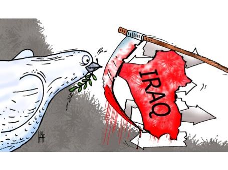 الموت يخيم على مظاهرات العراق