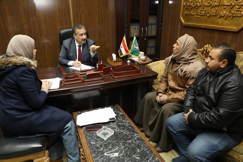 لقاء محافظ المنوفية بالمواطنين (5)