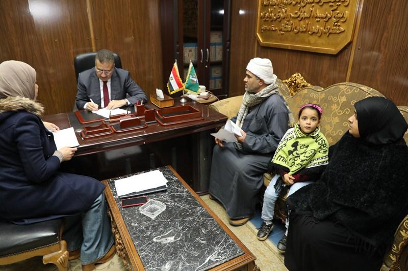 لقاء محافظ المنوفية بالمواطنين (1)