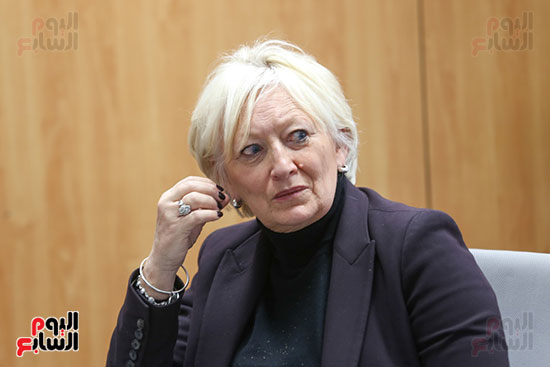 النائبة كاترين موران ديسيلى من البرلمان الفرنسي