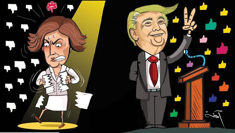 ترامب ينتصر على نانسى بيلوسى فى قضية العزل