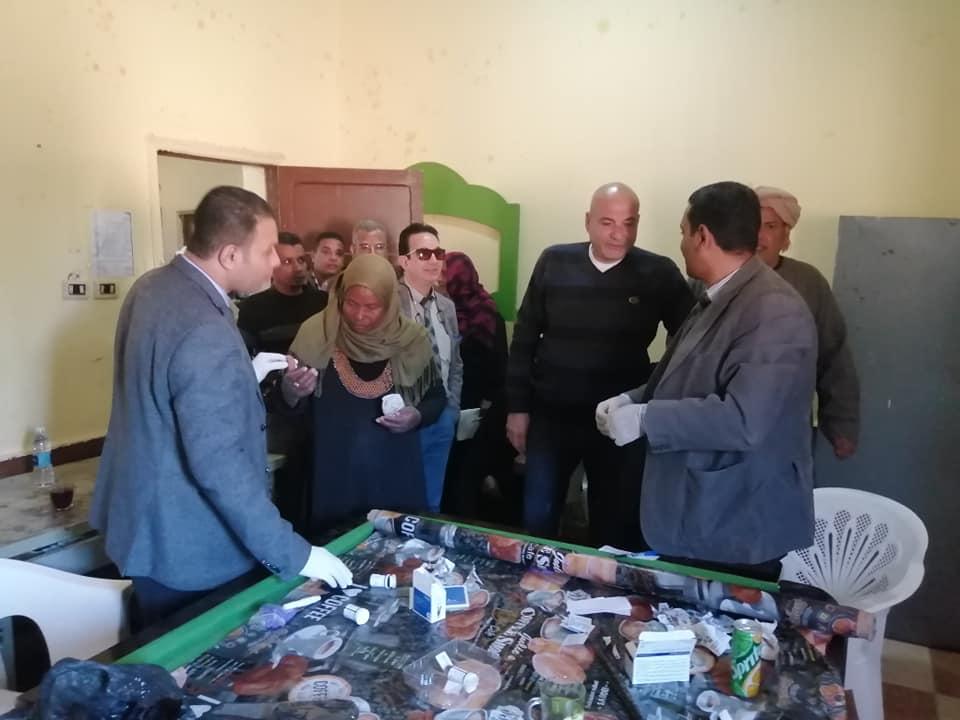 رئيس مدينة الطود في جولة لمتابعة تجهيز مستشفى العديسات التخصصي (2)