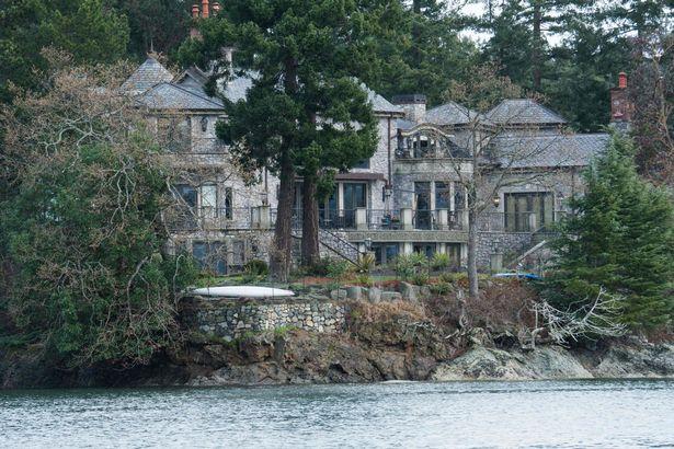 منزل الزوجين الملكيين في فانكوفر