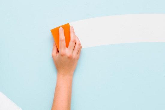 نصائح لتنظيف الجدران المطلية