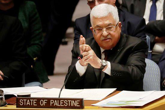 الرئيس-الفلسطيني-محمود-عباس-يتحدث-خلال-اجتماع-لمجلس-الأمن
