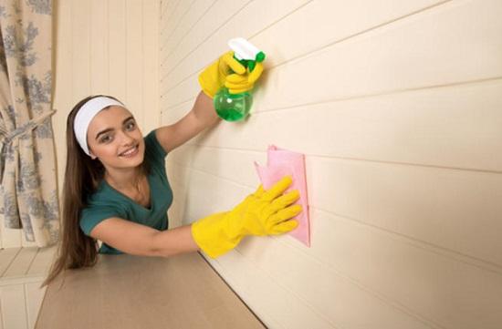 نصائح لتنظيف الجدران
