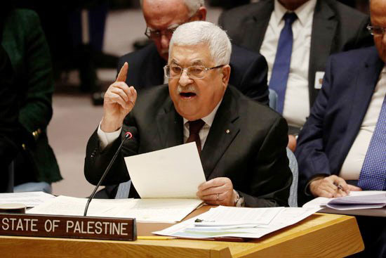 الرئيس-محمود-عباس-يلوح-أثناء-حديثة-أمام-مجلس-الأمن