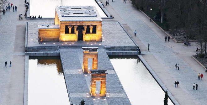 المعبد فى مدريد
