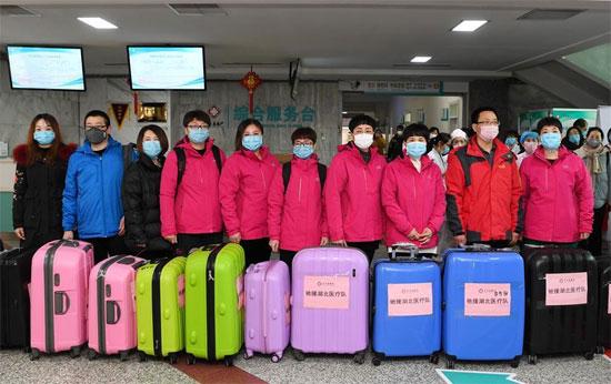 فريق طبى صينى
