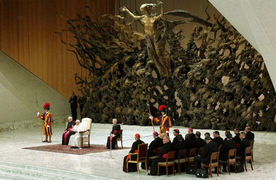 البابا-فرنسيس-يلقى-كلمته-الأسبوعية