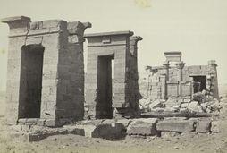 معبد ايبود قبل نقله من مصر