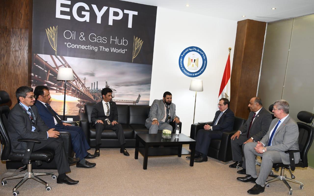 لقاء الوزير مع وفد أرامكو