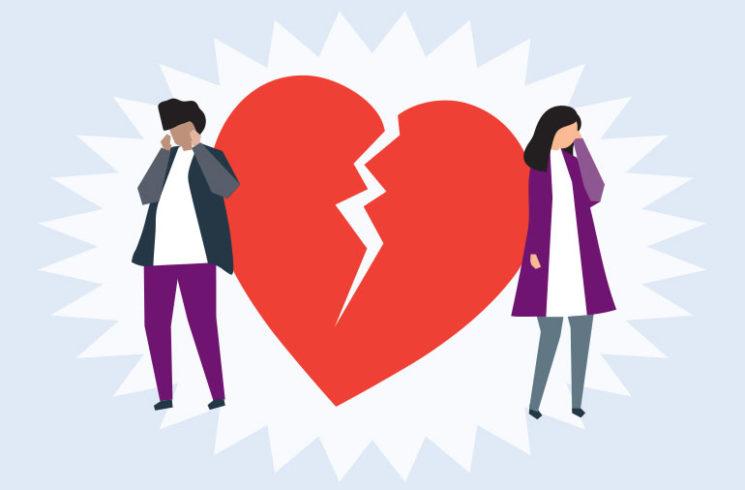 القلب المكسور