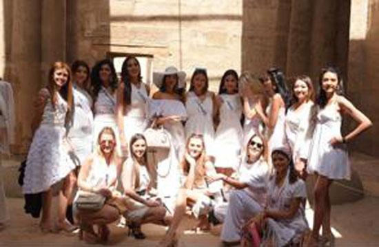 جميلات 80 دولة يتنافسن على ملكة جمال الكون بفندق أيكوتيل دهب